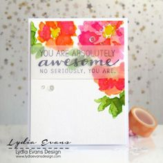 Card by Lydia Evans | Altenew & Hero Arts