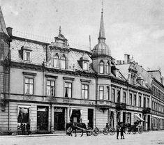 Nord-Trøndelag fylke Steinkjer Øvre Elvegate matrikkel nr. 9: Huset Grand hotell fra 1903 til 1919 og Rolf Hanssen A/S fra 1919 til 1940. Foto1908