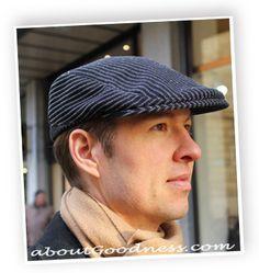 9856a602633 Men s Flat Cap   Gatsby Hat  Pattern DIY Tutorial