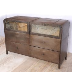 @Overstock - This beautiful dresser features an old iron lacquer finish and mirrors on the front of the top two drawers. This dresser was handcrafted by artisans in central Indiahttp://www.overstock.com/Worldstock-Fair-Trade/Puri-Six-Drawer-Dresser-India/7254828/product.html?CID=214117 $1,061.99