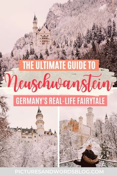 Planning a Fairytale Neuschwanstein Castle Winter Day Trip | Everything You Need to Know About Planning a Munich to Neuschwanstein Castle Day Trip | Things to Do in Munich | Things to Do in Germany | Germany Travel Guide | Best Germany Castles | Best Day Trips From Munich | Munich Day Trips | Neuschwanstein Castle in the Winter | Germany in the Winter | Munich in the Winter | European Castles | Best Castles in Europe | Munich Travel Guide | Europe Winter Travel | Winter Travel Destinations