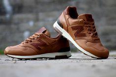 "Horween x New Balance M1400BH ""Brown"" - EU Kicks: Sneaker Magazine"