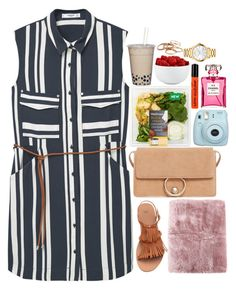 """picnic❤"" by polinachaban ❤ liked on Polyvore featuring MANGO, Fujifilm, H&M, La Perla, NYX, The Cellar, Movado and Kendra Scott"