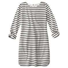 Target french terry stripe dress $22.99