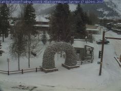 Jackson Hole Town Square Southwest Webcam (I have only been here during the summer, would love to go here one winter)
