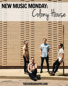 New Music Monday: Colony House