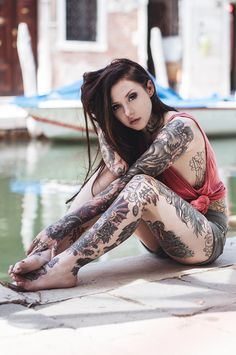 """""""Gogo Blackwater"""" by Anita Sadowska, via 500px... I'm interested in her hair color specifically: *rich brown hair color - some red better deeper brown tones*"""