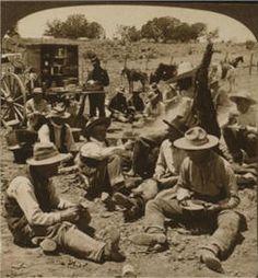 Old west chuck wagon.