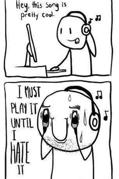 The bane of finding good music