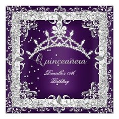 >>>The best place          Quinceanera 15th Birthday Party Silver Purple Invite           Quinceanera 15th Birthday Party Silver Purple Invite We have the best promotion for you and if you are interested in the related item or need more information reviews from the x customer who are own of th...Cleck Hot Deals >>> http://www.zazzle.com/quinceanera_15th_birthday_party_silver_purple_invitation-161782838316187459?rf=238627982471231924&zbar=1&tc=terrest