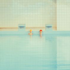 'Swimming Pool', the continuation of an ongoing photo series by Maria Svarbova. Maria Svarbova is a talented photographer who lives in Bratislava, Pool Fotografie, Accidental Wes Anderson, Swimming Pool Photography, Swimming Photos, Fotografia Vsco, Easter Breaks, Deco Boheme, Foto Art, Blog Deco