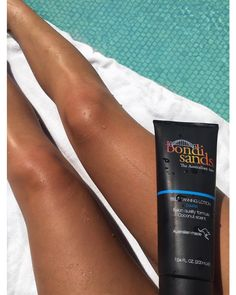 Spending the day by the pool getting my tan on! Love having a natural tan through summer! @bondisands Self Tanning Lotion in Dark helps me keep my tan on all year round  I have tried all the Bondi Sands products and I can honestly say I love and trust every product! Thanks @bondisands for always being fab  by becsocal