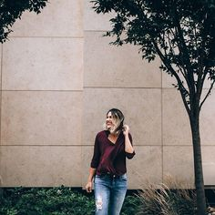 The perfect shirt for fall: fig wrap top