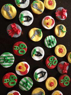 Nieuwe woning cupcakes