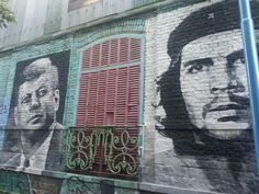 JFK y Che Guevara  #sumatufoto #visual