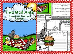 Time saving literature unit for Two Bad Ants written by Chris Van Allsburg. www.teacherspayte...
