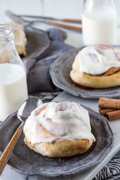 Fluffy, tender, and flavorful cinnamon rolls are everything you want, including this sinfully delicious, cream-cheese frosting. We are hooked on them and hope you will love this cinnamon roll recipe and its quick prep time!