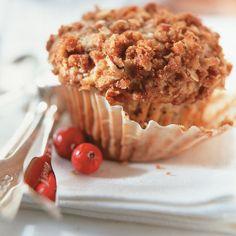 Cranberry and Lemon Muffins Breakfast Recipes, Dessert Recipes, Desserts, Dessert Weight Watchers, Biscuits, Cranberry Muffins, Lemon Muffins, Dessert Bread, No Bake Treats