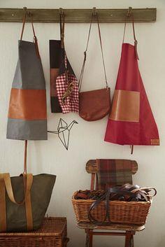 Portfolio - The Traditional English Apron Company Aprons, English, Traditional, Tote Bag, Ideas, Design, Apron Designs, Totes, Apron