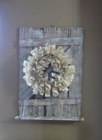 Wood you like to craft?: Barn Door Shelf