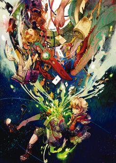 The Power of the Monado. Monolith Soft, Xenoblade Chronicles Wii, Xeno Series, Persona 5 Anime, Kid Icarus, Cute Games, Video Game Art, Light Novel, Super Smash Bros