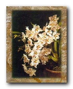 This beautiful white orchid flowers in vase floral picture art print poster will surely enhance your home interior. This contemporary style wall art will surely bring charm and add a chic touch into your home decor. Hang this floral poster in your living room and get ready to get compliments from those who visit your home. Discover the uniqueness of this poster and make your order today for its durable quality and excellent color accuracy.