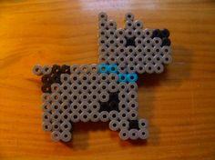 perro de hama beads