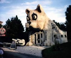 Dog House 2 - This looks like the cafe from Disney's Rocket Man.