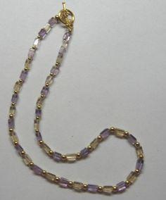 Ametrine Necklace by treasuresbycathy on Etsy, $39.95 Amethyst Earrings, All Things Beauty, Simply Beautiful, Gemstone Jewelry, Swarovski Crystals, Quartz, Gemstones, Jewellery, Purple