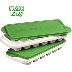 Fresh Baby - So Easy Storage Trays for Baby Food and Breast Milk - Walmart.com