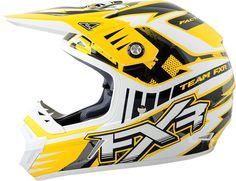 FXR Racing - Snowmobile Sled Gear - Octane Helmet - Yel/Strike Snowmobile Helmets, Snowmobiles, Sled, Gears, Racing, Lead Sled, Running, Gear Train, Auto Racing