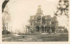 Historic residence in Woodbury, NJ  http://preservewoodbury.blogspot.com/search?q=gray+towers