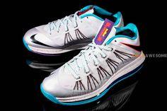 """fdeaf561c16 Nike Lebron X Low """"Summit Lake Hornets"""" Nike Lebron"""