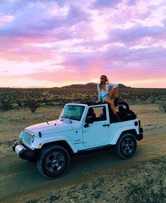 Jeep girl, jeep life! Wrangler :)