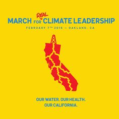 MARCH for real climate leadership in California! This is exactly what we need in the face of the worst drought in 1200 years - real climate leadership. Not energy sources that contribute to climate change and droughts, pollute water, or consume large amounts of water. Let's make this huge! In Oakland 2/7/14. RSVP: http://act.350.org/signup/rcl-signup/