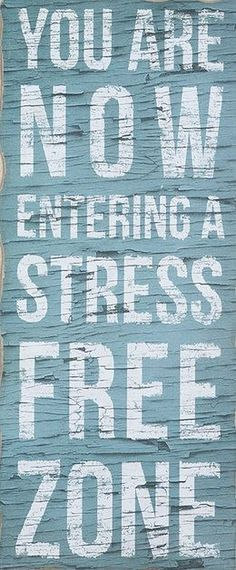 Love this wall art. Place it in your stress-free zone at home!