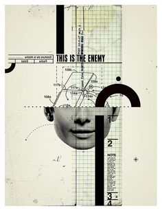 This is the enemy by pemorama!, via Flickr #design