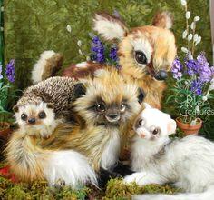 #rikercreatures #riker #artisan crafts #doll #plushie #customtoy #orignalartistdolls #adorable #artdoll #creature #cute #fantasycreature #fantasy #handmade #kuwaii #magic #magical #oneofakind #ooak #plush #poseable #poseableartdoll #poseableanimal #pet #exotic #exoticpet #forest #realisticplush #toy #realistictoy #teddybear #ooakartistbeary #fantasy #magical #magic #fantasycreature #realisticplush #fauxfur #forestanimals #fantasyforest #fawn #hedgehog #fox #ferret #perferret