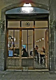 Lo de Flor, restaurant.   Barcelona, Spain