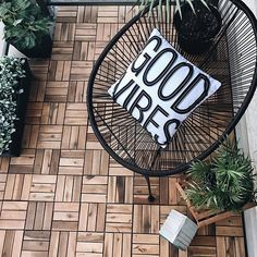 KUTA tiles can make a cold balcony a warm and welcoming space #myJYSK