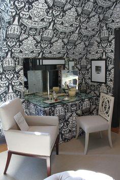 her dressing room, Designer Robert Brown, Adamsleigh Show House
