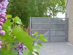 Galerij aluminium metalen tuinpoorten - Hortipoort
