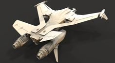 CGTalk - Thrust Challenge - Myrmidon Fighter (3D) - Landon L., ephalanx (3D)
