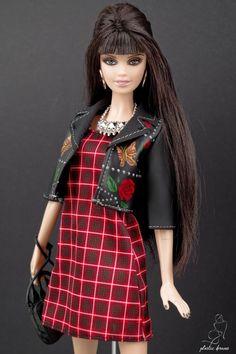 Barbie Life, Barbie World, Barbie And Ken, Fashion Dolls, Retro Fashion, High Fashion, Fashion Dresses, Barbie Style, Barbie Dress