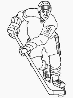 Olympic Coloring Pages: Olympic Hockey Coloring Page | The Olympic ...