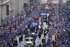 NY Giants on the streets of New York