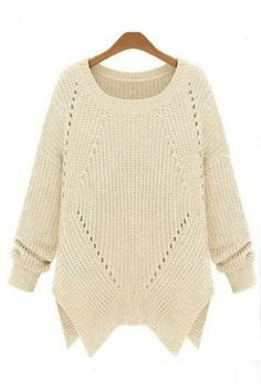 Loose long sweater(3colors)_Sweaters_CLOTHING_Voguec Shop