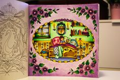 Romantic Country Coloring Book- First Tale by Eriy-Before Going To Sleep