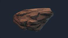ArtStation - Rock Edge Quality Study, Bryan Walter