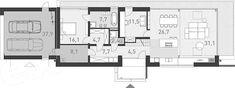 Projekt domu Odważny 1 158 m2 - koszt budowy - EXTRADOM Home Projects, Floor Plans, Construction, House, Design, Building, Haus, Design Comics, Homes